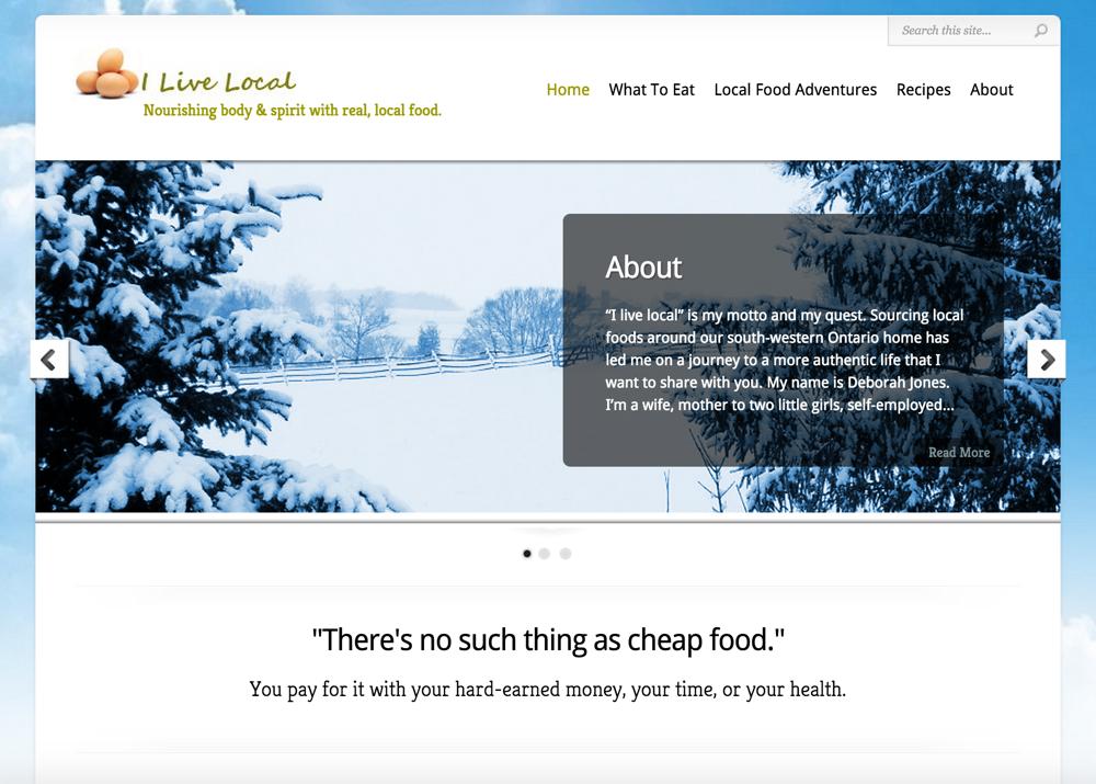 ILiveLoca.ca - Homepage - Full Screen View